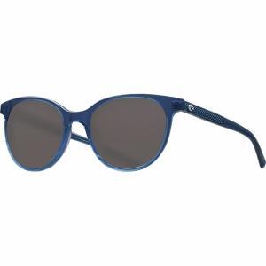 コスタ サングラス&アイウェア レディース アクセサリー Isla 580G Polarized Sunglasses - Women's Shiny Deep Teal Crystal/Gray 580G|astyshop