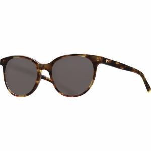 コスタ サングラス&アイウェア レディース アクセサリー Isla 580G Polarized Sunglasses - Women's Shiny Tortoise Frame/Gray 580G|astyshop