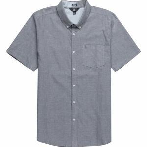 ボルコム シャツ メンズ トップス Everett Oxford Short-Sleeve Shirt - Men's Black|astyshop