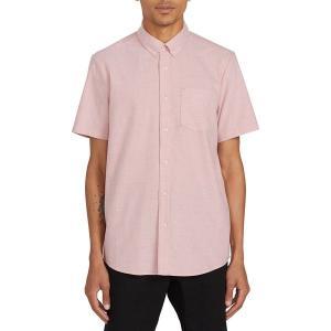 ボルコム シャツ メンズ トップス Everett Oxford Short-Sleeve Shirt - Men's Sandstone|astyshop
