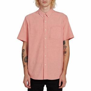 ボルコム シャツ メンズ トップス Everett Oxford Short-Sleeve Shirt - Men's Tigerlily|astyshop