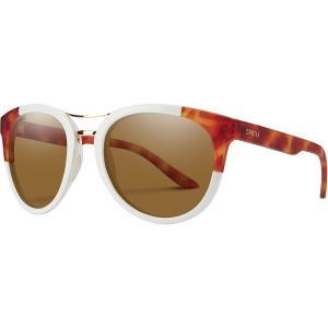 スミス サングラス&アイウェア レディース アクセサリー Bridgetown ChromaPop Polarized Sunglasses - Women's White Honey Tortoise Block/Polarized Brown|astyshop
