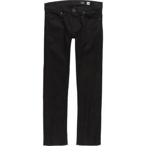 ボルコム カジュアル メンズ ボトムス Vorta Denim Pant - Men's Black On Black|astyshop
