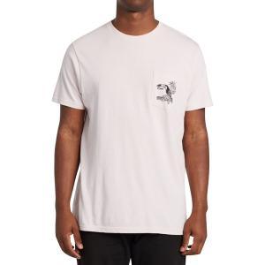 ビラボン シャツ メンズ トップス Dominical T-Shirt - Men's Lilac|astyshop