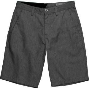ボルコム ハーフ&ショーツ メンズ ボトムス Frickin Chino Short - Men's Charcoal Heather|astyshop
