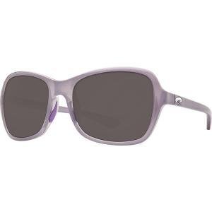 コスタ サングラス&アイウェア レディース アクセサリー Kare 580P Polarized Sunglasses - Women's Shiny Sea Lavender Crystal Gray 580p|astyshop