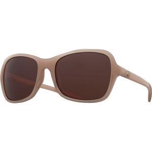 コスタ サングラス&アイウェア レディース アクセサリー Kare 580P Polarized Sunglasses - Women's Shiny Sand Crystal Copper 580p|astyshop