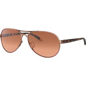 オークリー サングラス&アイウェア レディース アクセサリー Feedback Sunglasses - Women's Rose Gold/VR50 Brown Gradient|astyshop