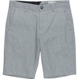ボルコム ハーフ&ショーツ メンズ ボトムス Frickin Modern Stretch Short - Men's Grey|astyshop
