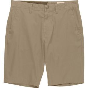 ボルコム ハーフ&ショーツ メンズ ボトムス Frickin Modern Stretch Short - Men's Khaki|astyshop