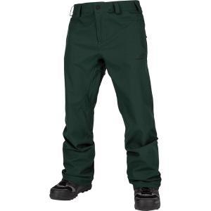 ボルコム カジュアル メンズ ボトムス Freakin Snow Chino Pant - Men's Dark Green|astyshop