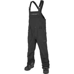 ボルコム カジュアル メンズ ボトムス Rain Gore-Tex Bib Overall Pant - Men's Black|astyshop