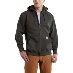 カーハート ニット、セーター メンズ アウター Rain Defender Paxton Heavyweight Full-Zip Hooded Sweatshirt - Men's Peat|astyshop