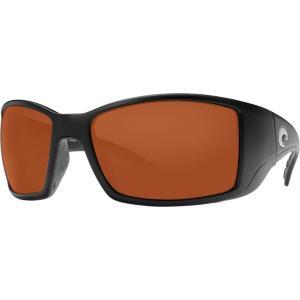 コスタ サングラス&アイウェア レディース アクセサリー Blackfin 580P Polarized Sunglasses Matte Black/Copper|astyshop