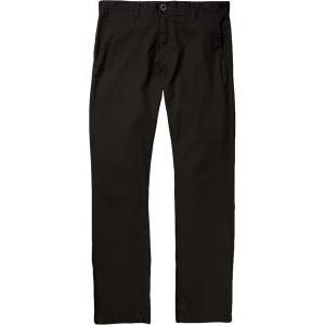 ボルコム カジュアル メンズ ボトムス Frickin Modern Stretch Chino Pant - Men's Black|astyshop