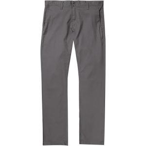 ボルコム カジュアル メンズ ボトムス Frickin Modern Stretch Chino Pant - Men's Charcoal|astyshop