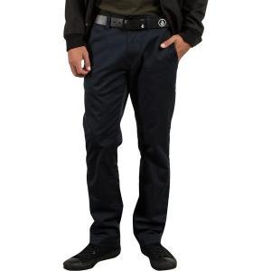 ボルコム カジュアル メンズ ボトムス Frickin Modern Stretch Chino Pant - Men's Dark Navy|astyshop