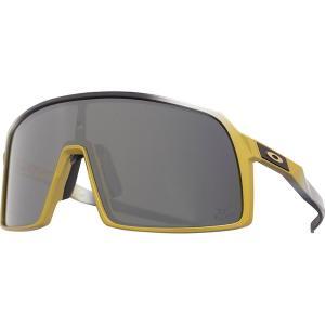 オークリー サングラス・アイウェア メンズ アクセサリー Sutro Prizm Sunglasses TDF Trifecta Fade/PRIZM Black|astyshop