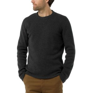 スマートウール ニット、セーター メンズ アウター Hudson Trail Fleece Crew Sweater - Men's Dark Charcoal|astyshop