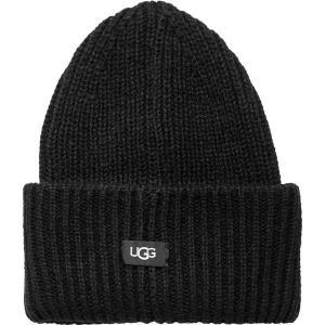 アグ 帽子 レディース アクセサリー Rib Knit Cuff Hat - Women's Black|astyshop
