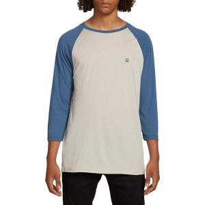 ボルコム シャツ メンズ トップス Solid Heather Raglan 3/4-Sleeve T-Shirt - Men's Oatmeal|astyshop