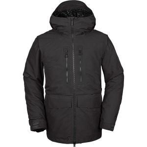 ボルコム ジャケット&ブルゾン メンズ アウター Stone Gore-Tex Hooded Jacket - Men's Vintage Black|astyshop