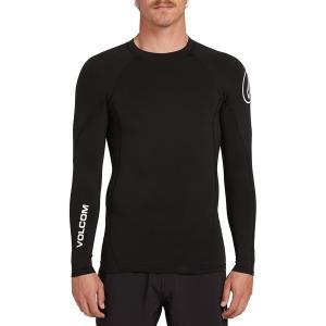 ボルコム シャツ メンズ トップス Hotainer Long-Sleeve Shirt - Men's Black|astyshop