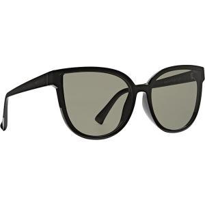 ボンジッパー サングラス&アイウェア レディース アクセサリー Fairchild Sunglasses - Women's Black Gloss/Vintage Grey|astyshop