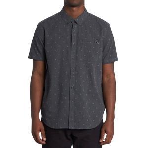 ビラボン シャツ メンズ トップス All Day Jacquard Shirt - Men's Black|astyshop