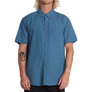 ビラボン シャツ メンズ トップス All Day Jacquard Shirt - Men's Deep Ocean|astyshop