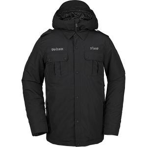 ボルコム ジャケット&ブルゾン メンズ アウター Creedle2Stone Jacket BK|astyshop