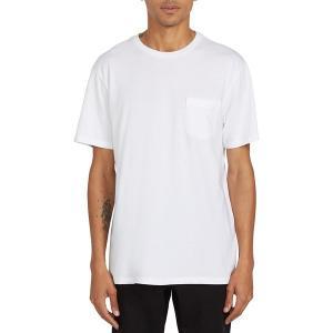 ボルコム シャツ メンズ トップス Solid Pocket T-Shirt - Men's White|astyshop