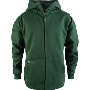 アーバーウェア ニット、セーター メンズ アウター Tech Double Thick Full-Zip Sweatshirt - Men's Forest Green|astyshop