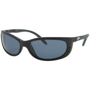 コスタ サングラス&アイウェア レディース アクセサリー Fathom 580G Polarized Sunglasses - Women's MatteBlack/Gray|astyshop