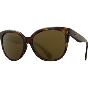 カエノン サングラス&アイウェア レディース アクセサリー Lina Polarized Sunglasses - Women's Crystal Oasis/Brown 12-Polarized Gold Mirror|astyshop