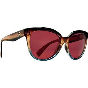 カエノン サングラス&アイウェア レディース アクセサリー Lina Polarized Sunglasses - Women's Tobacco Denim/Copper 12-Polarized|astyshop
