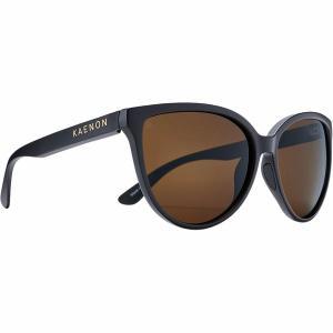 カエノン サングラス&アイウェア レディース アクセサリー Colusa Polarized Sunglasses - Women's Matte Black/Brown|astyshop