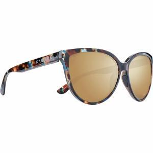 カエノン サングラス&アイウェア レディース アクセサリー Colusa Polarized Sunglasses - Women's Brown Opal/Brown-Gold Mirror|astyshop