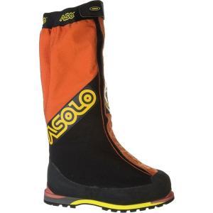 アゾロ シューズ メンズ ハイキング Manaslu GV Mountaineering Boot Orange/Black
