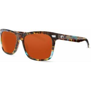 コスタデルマール サングラス・アイウェア アクセサリー メンズ Costa Del Mar Aransas 580G Polarized Sunglasses Matte Tortoise/Gray Silv astyshop
