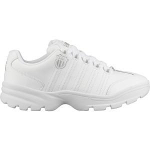 ケースイス スニーカー シューズ メンズ K-Swiss Men's Altezo Shoes White/Silver astyshop