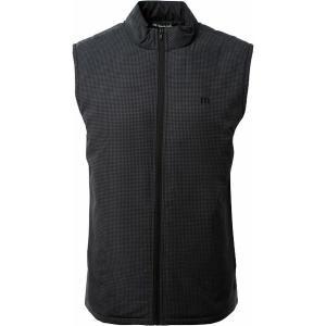 トラビスマヒュー ジャケット&ブルゾン アウター メンズ TravisMathew Men's Keep It Up Full Zip Golf Vest Black astyshop
