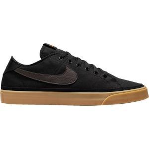 ナイキ スニーカー シューズ メンズ Nike Men's Court Legacy Canvas Shoes Blk/Brn/Gum/Org|astyshop
