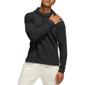 アディダス パーカー・スウェットシャツ アウター メンズ adidas Men's Yoga Coverup Hoodie Black astyshop