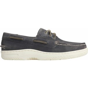 トップサイダー スニーカー シューズ メンズ Sperry Men's Billfish PLUSHWAVE Boat Shoes Grey|astyshop