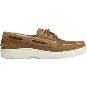 トップサイダー スニーカー シューズ メンズ Sperry Men's Billfish PLUSHWAVE Boat Shoes Coffee|astyshop