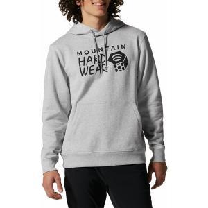 マウンテンハードウェア パーカー・スウェットシャツ アウター メンズ Mountain Hardwear Men's Logo Pullover Hoodie Hardwear Grey Heather astyshop