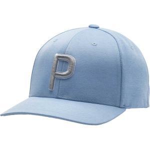 プーマ 帽子 アクセサリー メンズ PUMA Men's P 110 2020 Golf Hat Blue Bell astyshop