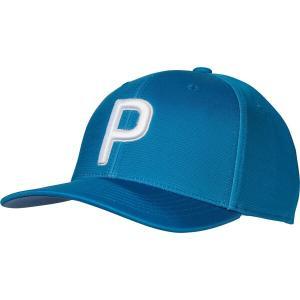 プーマ 帽子 アクセサリー メンズ PUMA Men's P 110 2020 Golf Hat Digi Blue astyshop