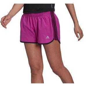 アディダス カジュアルパンツ ボトムス レディース adidas Women's Marathon 20 Shorts Fuschia astyshop